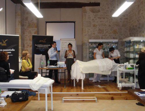 Interpretación consecutiva de francés, español y búlgaro por Vesselin Dimitrov, en las Instalaciones de Gernetic (Francia)Interpretación Consecutiva